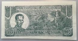 Vietnam ND (1948) 5 Dông, P. 17 RARE UNCIRCULATED CONDITION  (UNC NEUF Banknote Billet Viet Nam Paper Money Geldschein - Vietnam