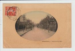 ARGENTEUIL - VAL D'OISE - AVENUE DE LA GARE - Argenteuil