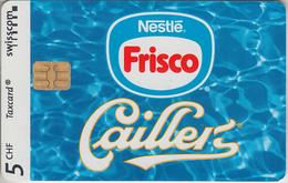 SUISSE - PHONE CARD - TAXCARD-PRIVÉE - CHIP *** CAILLER & NESTLÉ *** - Switzerland