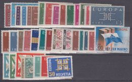 Europa Cept 1963 Year Set 19 Countries ** Mnh (43374) - Europa-CEPT
