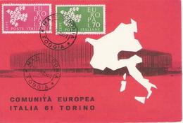 Cartolina: EUROPA (1961); No Viaggiata; A_Foggia - 1946-.. République