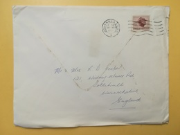 1966 BUSTA SUD AFRICA SOUTH BOLLO LOCAL MOTIVE ANNULLO JOHANNESBURG - Storia Postale