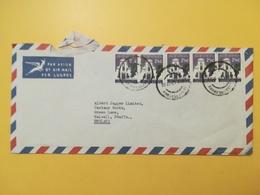 1967 BUSTA INTESTATA AIR MAIL SUD AFRICA SOUTH BOLLO LOCAL MOTIVE ANNULLO JOHANNESBURG - Storia Postale