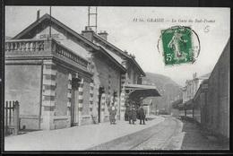 CPA 06 - Grasse, La Gare Du Sud-France - Grasse