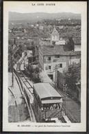 CPA 06 - Grasse, La Gare Du Funiculaire à L'arrivée - Grasse