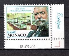 MONACO N° 2338   NEUF SANS CHARNIERE COTE 2.10€  MUSEE PREHISTOIRE - Nuovi