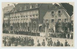 Fotokarte Fürstenfeldbruck Prozession Juni 1928. (173) - Fuerstenfeldbruck