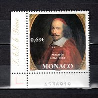 MONACO N° 2340   NEUF SANS CHARNIERE COTE 2.40€  MAZARIN - Monaco