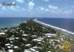 1 AK Tuvalu * Blick Auf Das Atoll Funafuti, Welches Zugleich Die Hauptstadt Des Pazifischen Inselstaats Tuvalu Ist * - Tuvalu