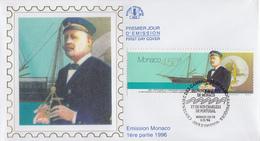 Enveloppe  FDC   1er  Jour   MONACO     Emission  Commune  Avec  LE  PORTUGAL   1996 - Joint Issues
