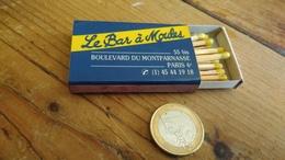Boîte D'allumettes  Le Bar A Moules Paris - Boites D'allumettes