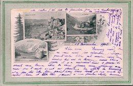 CPA - FRAIZE (88) - Carte Multi-vues De 1902 - Ferme-auberge Du Lac Blanc - Fraize