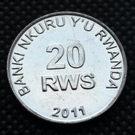 Rwanda 20 Franc. Uncirculated Coin - Rwanda
