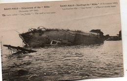 St - Malo -  Naufrage  Du  Hilda -  19  Novembre  1905. - Saint Malo