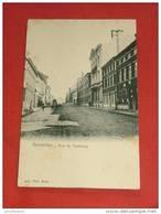 GOSSELIES -   Rue Du Faubourg   ( Cachet Du Commissariat De Gosselies )  - - Charleroi