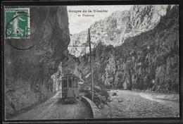 CPA 06 - La Vésubie, Gorges Et Tramway - Frankreich