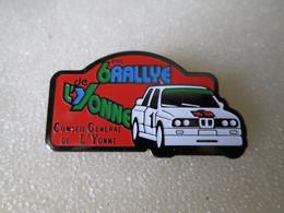 PIN'S     BMW  RALLYE DE L YONNE - Rallye