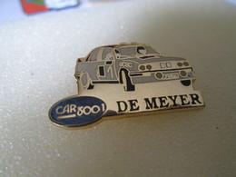 PIN'S      BMW  DOMINIQUE DE MEYER  CAR 300 I - Rallye