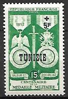 TUNISIE    -    1952 .    Y&T N° 358 ** .   Médaille Militaire - Tunisia (1888-1955)