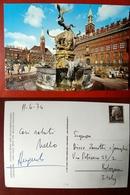 (FG.W56) COPENHAGEN - TOWN HALL WITH THE DRAGON FOUNTAIN - Danimarca
