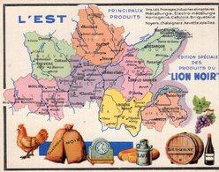 3373 Chromo Publicité Produits Du Lion Noir : L'Est - Andere