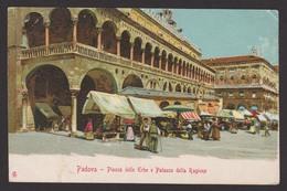 ITALIE - PADOVA - Piazza Delle Erbe E Palazzo - Padoue  - Dos Non Divisé - Non Voyagée - CPA Couleur - Padova (Padua)