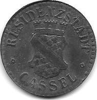 Notgeld Cassel 10 Pfennig 1917 Zn 2360.3 / F78.3 - [ 2] 1871-1918 : Empire Allemand