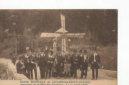 39 Lavans Les St Claude Souvenir De La Fete Des Glycines Union Musicale 1 Er Avril 1928 - Francia