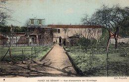 S2459 Cpa 91 Forêt De Sénart - Vue D'ensemble De L'Ermitage - Sénart