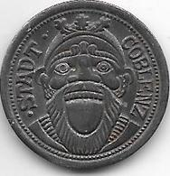 Notgeld Coblenz 10 Pfennig 1920 Fe  2512.5 - [ 2] 1871-1918 : Impero Tedesco