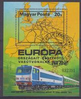 Hungary  1979 European Railroads/Iva '79 M/s Used  (43376) - Europese Gedachte