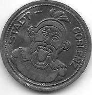 Notgeld Coblenz 10 Pfennig 1920 Fe  2512.8 - [ 2] 1871-1918 : Empire Allemand