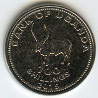 Ouganda Uganda 100 Shillings 2015 UNC KM 67a - Ouganda