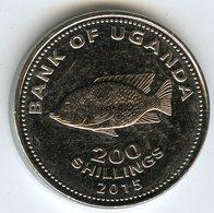 Ouganda Uganda 200 Shillings 2015 UNC KM 68a - Uganda