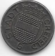 Notgeld  Crefeld 5 Pf 1919 G  Fe 2618.10 - Autres