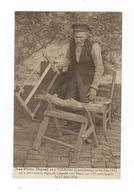 Vieux Monsieur Scie Bois Sur Un Chevalet (Jean-Pierre Dupont Né à Tournai (Luxembourg) Le 26 Juin 1821) - Pas Circulé - Autres