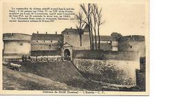 80 HAM Cpa Chateau L'Entrée - Ham