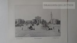 ZA206.10 Seraskerat Square  -Turkey-Ottoman Empire Istambul - Old Print Ca 1900-Constantinople-Ed. Jacques Ludwigsohn - Prenten & Gravure