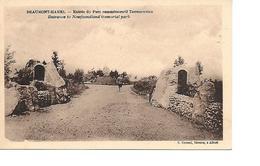 80 BEAUMONT HAMEL Cpa Entrée Du Parc Commémoratif Terreneuvien - Francia