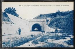 CPA 06 - Villeneuve-Loubet, Le Tunnel Du Tramway - Frankreich