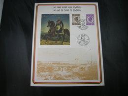"""BELG.1985 Militaire Herdenkingskaart """"KAMP VAN BERVERLO/CAMP DE BEVERLO"""" Carte Commémorative Militaire - 1981-90"""