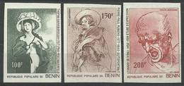 Benin 1977 Mi 106-108B MNH ( ZS5 BNN106-108B ) - Arte
