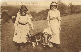 1. Au Beau Pays D'Ardenne - Femmes, Enfant, Chèvre - Circulé 1929 - Marco Marcovici - Autres