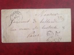 Limoges - Marcophilie (Lettres)