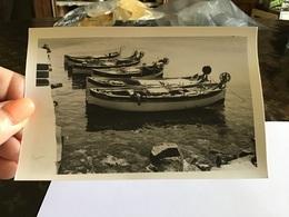 Photo Noir Et Blanc Corse Mais 1966 Barque à Île-Rousse - Photographs