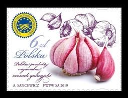 Poland 2019 Mih. 5136 Gastronomy. Polish Regional Products. Galician Garlic MNH ** - 1944-.... República