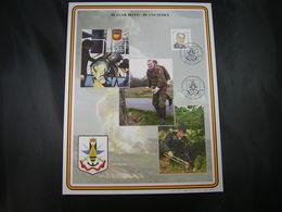 """BELG.2000 Militaire Herdenkingskaart """" DOVO  """" Carte Commémorative Militaire - 1991-00"""