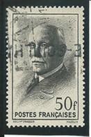 FRANCE: Obl., N° YT 525, Noir, TB - 1941-42 Pétain