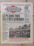 Journal Libération (7 Avril 1993) Parti Socialiste - La Vignette - J Roseau - Génération écologique - Peter Astor - Zeitungen