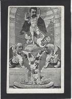 CPA Franc Maçonnerie Masonic Maçonnique Satirique Caricature Briand Combes Franc Maçon Anticléricale - Filosofia & Pensatori